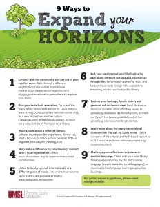 9 Ways to Expand your Horizons (PDF)