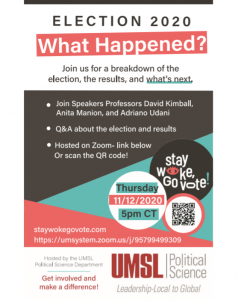 Election 2020 What Happened flyer