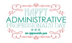 happy administrative assistant day images