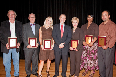 UMSL Chancellor's Award for Excellence recipients
