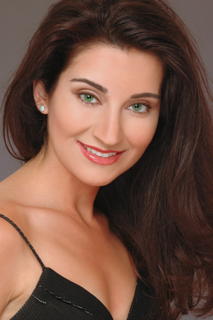 Stella Markou and guest artists will perform Nov. 5 at the Touhill.