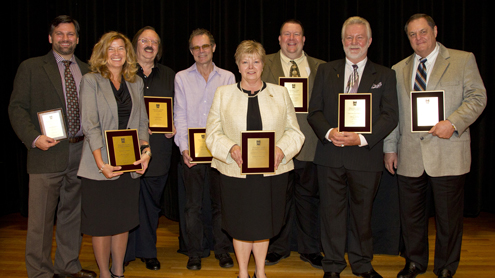 Faculty, staff awards highlight State of the University Address