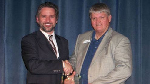 Suicide prevention specialist earns excellence award