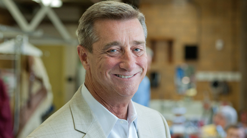 From trash picker to president and CEO, Denny Reagan knows the ins and outs of The Muny