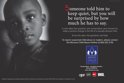 Children's Advocacy Services launches take action campaign ...