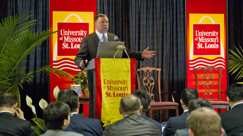 Health care focus of outsourcing professionals meeting  at UMSL