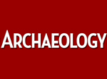 Greek dig makes pages of Archaeology magazine