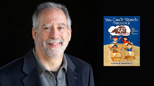 'You Can't Teach Through a Rat' latest book by character education expert