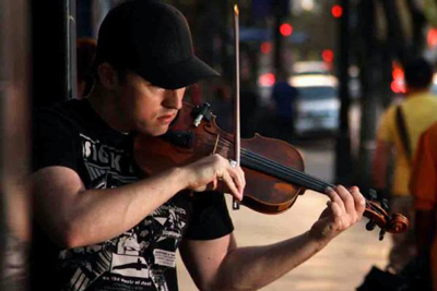 Hip-hop violinist goes from LA streets to Touhill stage