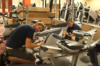 time to try out new workout equipment  umsl daily  umsl
