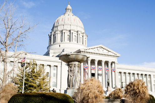 Missouri Capitol in Jefferson City