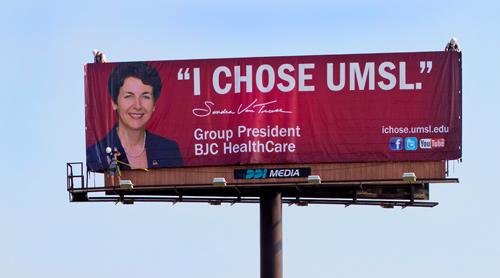 'I Chose UMSL' refrain of new marketing campaign
