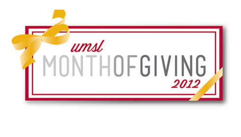 UMSL Month of Giving 2012