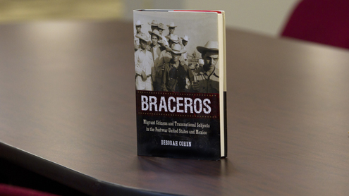 Historian receives trio of honors for 'Braceros' book