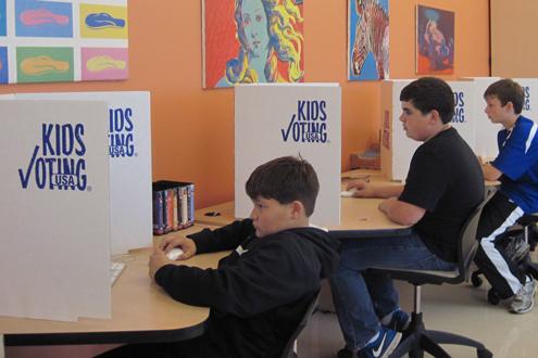 Kids Voting 2012
