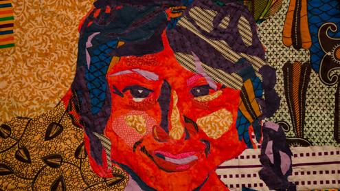 UMSL alumna's handmade quilts to hang at Gallery Visio