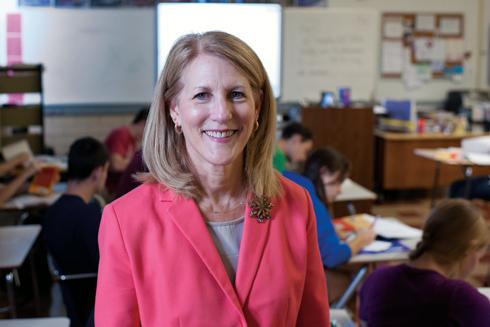 UMSL alumna Cathy Cartier