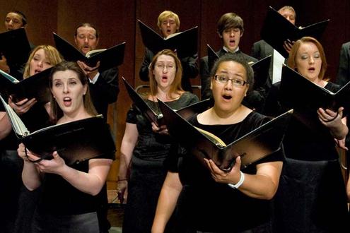 University Singers at UMSL