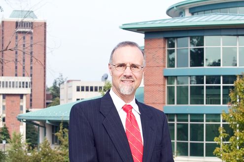 UMSL Chancellor Tom George