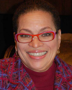 Julianne Malveaux, noted labor economist, author and political commentator