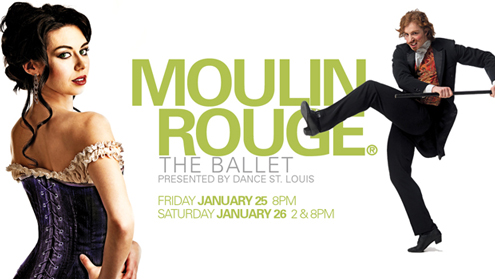 """Moulin Rouge - The Ballet"" at UMSL"