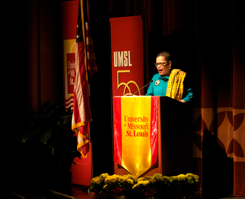 Julianne Malveaux at UMSL