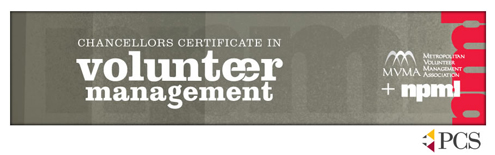Chancellor's Certificate in Volunteer Management at UMSL