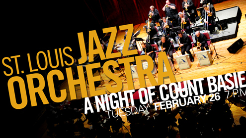 "St. Louis Jazz Orchestra - ""A Night of Count Basie"""