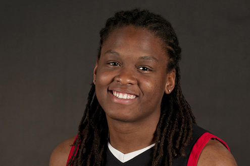 Devonna Smith, senior forward on the UMSL women's basketball team