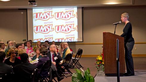 UMSL alumna Jennifer Tappenden