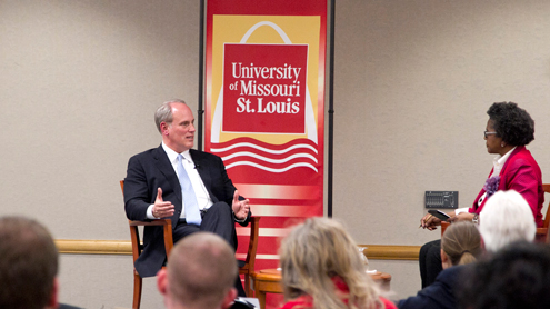 Eye on UMSL: Distinguished Speaker Series