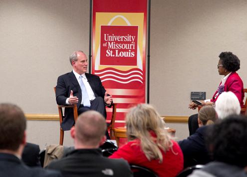 UMSL alumnus Brian F. Lavin