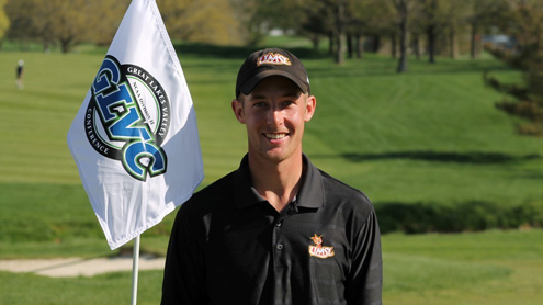 Atkisson claims GLVC men's golf medal