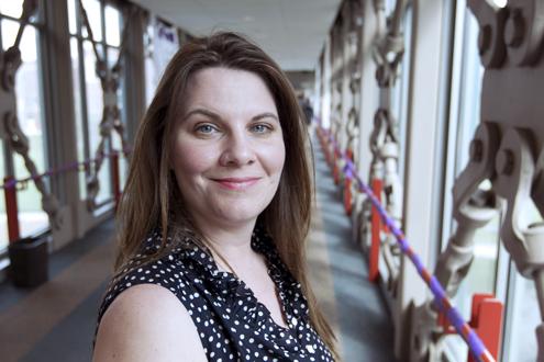 Jennifer Goldring, UMSL's 2013 poet laureate