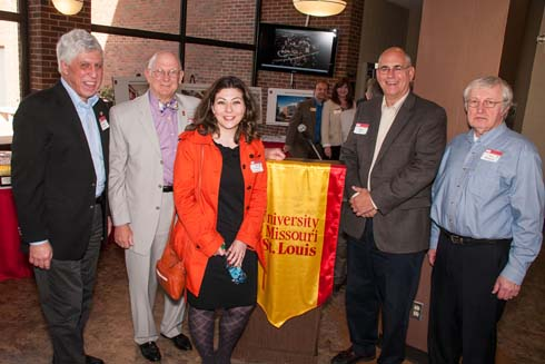 Alumni, faculty and friends of the Department of Chemistry at UMSL