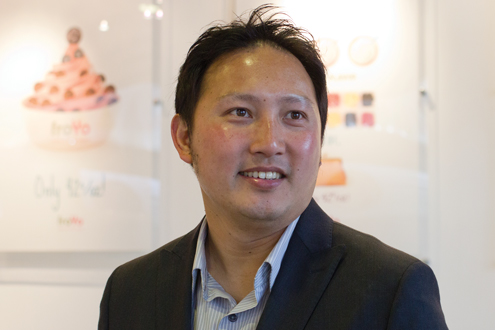 UMSL alumnus Jason Jan, founder of FroYo