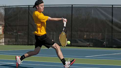 Tim McLarty earns All-GLVC honors in men's tennis
