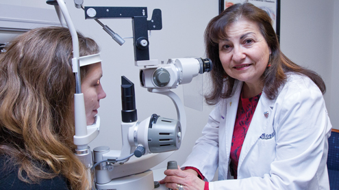 Karen Rosen: Alumna was among university's first optometry graduates