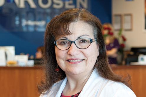 UMSL alumna Karen Rosen, OD 1984
