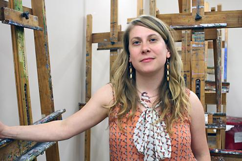 UMSL Senior Lecturer in Art Jessi Cerutti