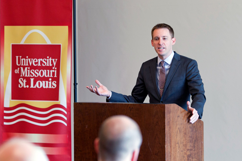 Jason Kander at UMSL