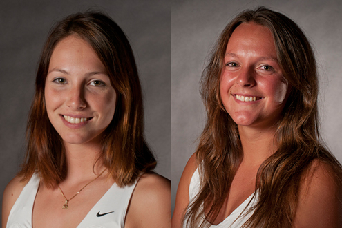 Louisa Werner, Renee Verboven earn All-GLVC honors in women's tennis