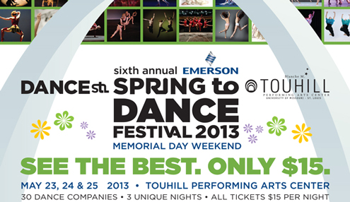 Sixth Annual Emerson Spring to Dance Festival at UMSL