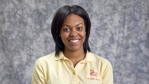 Tobi Williams, a senior psychology major at UMSL