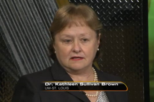 Kathleen Sullivan Brown, associate professor of educational leadership and policy studies at UMSL