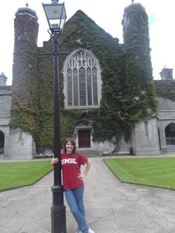 UMSL alumna Mia Michael, BA history 2013