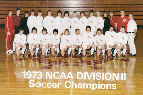 The 1973 UMSL soccer team
