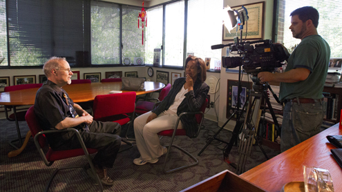 KETC interview with UMSL Chancellor Tom George