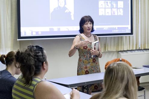 Kathleen Nigro, associate teaching professor of English and gender studies at UMSL