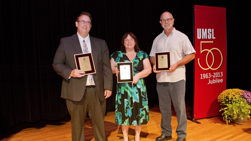 Chancellor recognizes 3 staff members with excellence awards